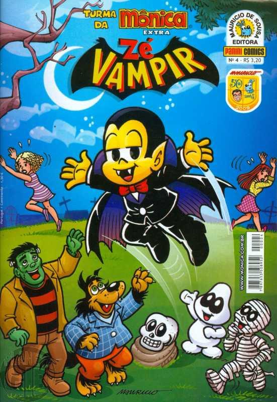 Turma da Mônica Extra [1s Panini] 004 out/2009 - Zé Vampir