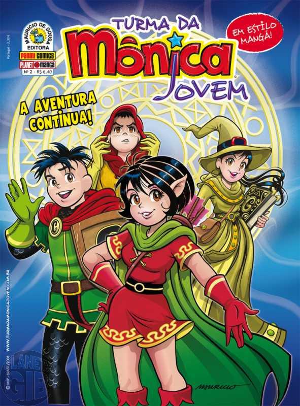 Turma da Mônica Jovem [1ª série - Panini] nº 002 set/2008