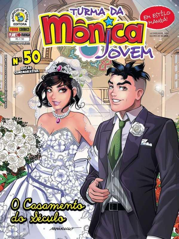 Turma da Mônica Jovem [1ª série - Panini] nº 050 set/2012