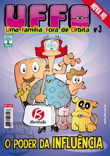 UFFO Uma Família Fora de Órbita nº 003 abr/2012
