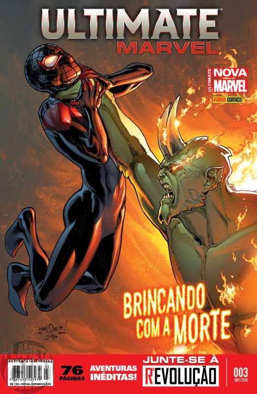 Ultimate Marvel [Panini - 2ª série - Totalmente Nova Marvel] nº 003 out/2015