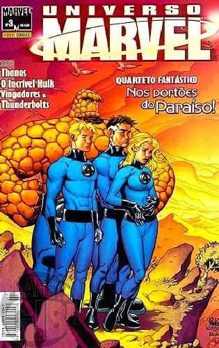 Universo Marvel [Panini - 1ª série] nº 003 set/2005