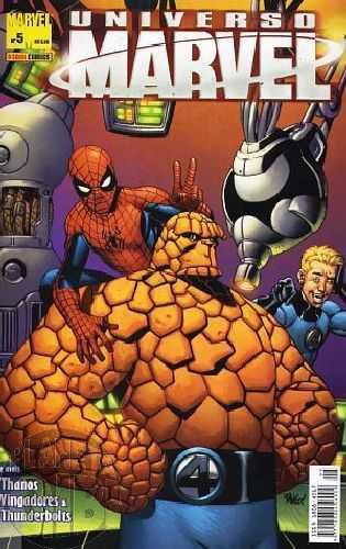 Universo Marvel [Panini - 1ª série] nº 005 nov/2005