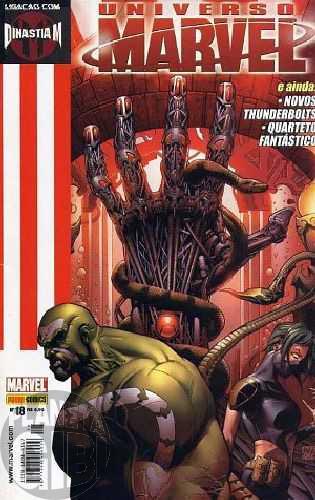 Universo Marvel [Panini - 1ª série] nº 018 dez/2006