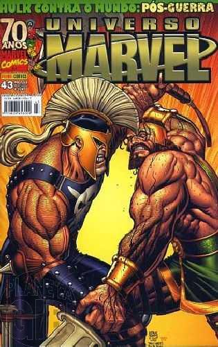 Universo Marvel [Panini - 1ª série] nº 043 jan/2009 - Hulk Contra o Mundo