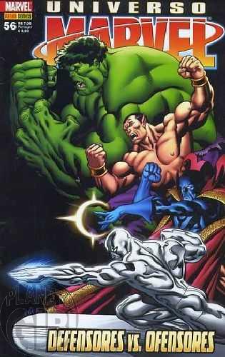 Universo Marvel [Panini - 1ª série] nº 056 fev/2010