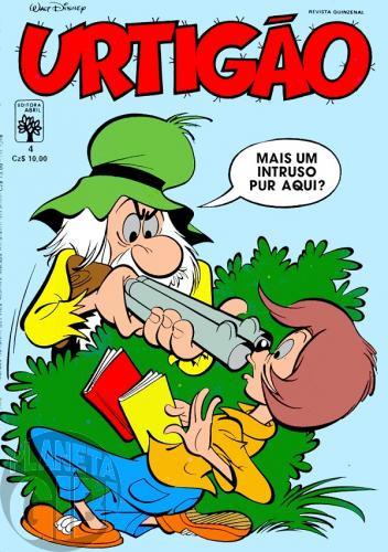 Urtigão [1ª série] nº 004 jul/1987 - Ara, Civilização! - Vide detalhes