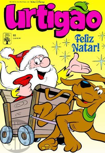 Urtigão [1ª série] nº 093 dez/1990 - Pirraças Natalinas - Vide Detalhes
