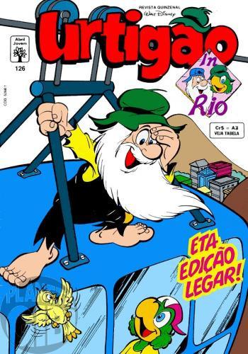 Urtigão [1ª série] nº 126 mar/1992 - in Rio - Um Talento Muito Especial