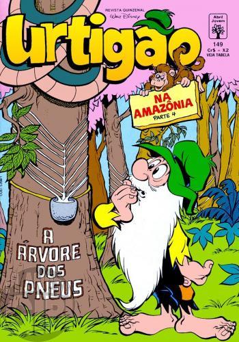 Urtigão [1ª série] nº 149 mar/1993 - Na Amazônia - Parte 4
