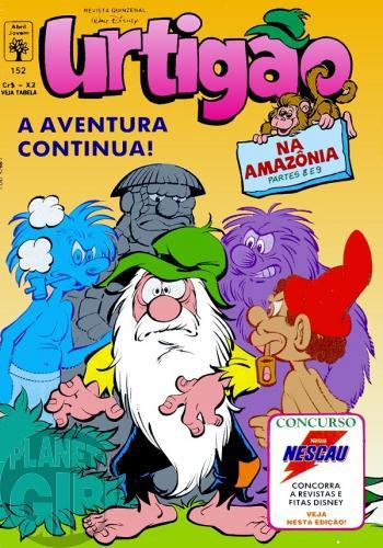 Urtigão [1ª série] nº 152 abr/1993 - Na Amazônia - Partes 8 e 9