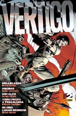 Vertigo [Panini - 1ª série] nº 002 dez/2009 - Vide Detalhes