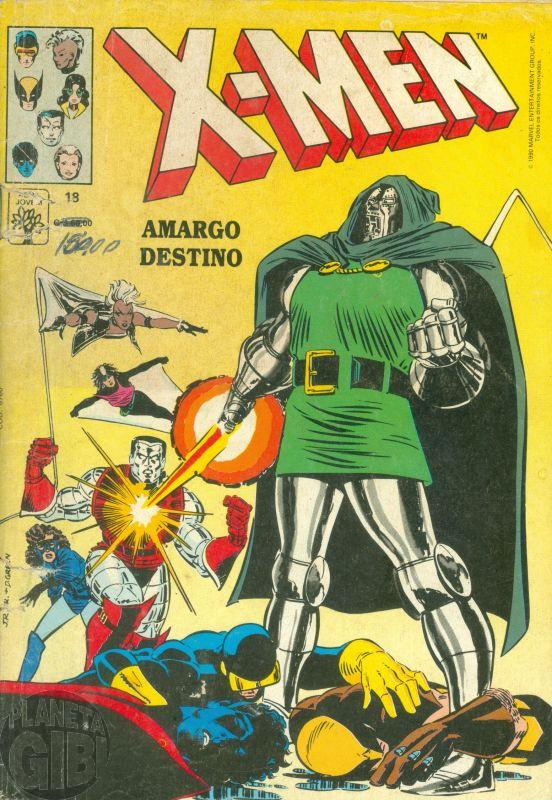 X-Men [Abril - 1ª série] nº 018 abr/1990 - Leia os detalhes abaixo