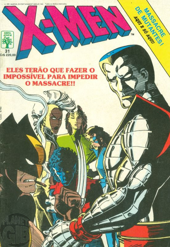 X-Men [Abril - 1ª série] nº 031 mai/1991