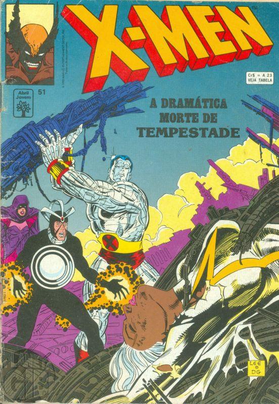 X-Men [Abril - 1ª série] nº 051 jan/1993