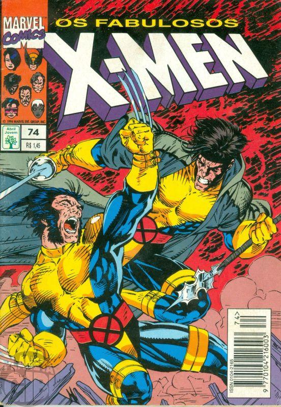 X-Men [Abril - 1ª série] nº 074 dez/1994