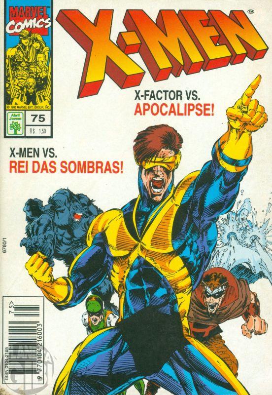 X-Men [Abril - 1ª série] nº 075 jan/1995