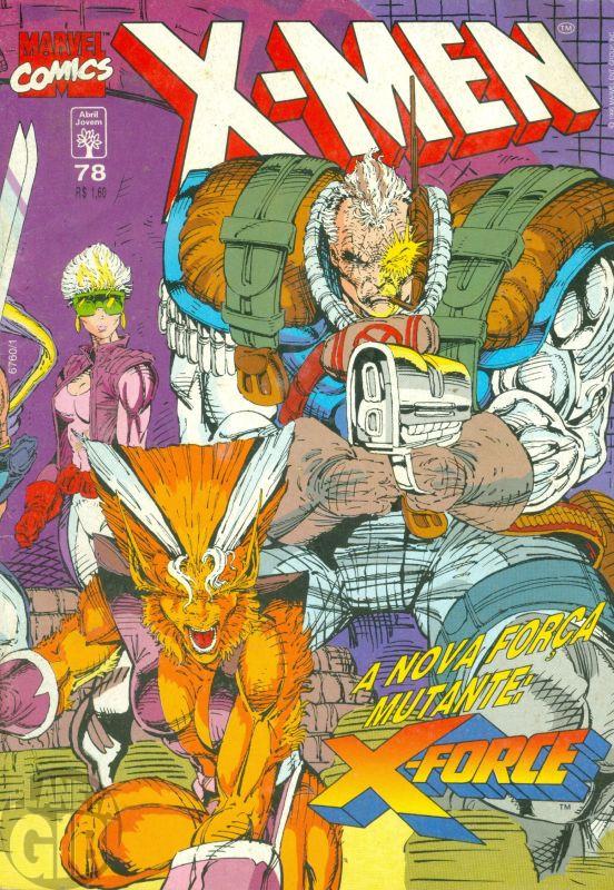 X-Men [Abril - 1ª série] nº 078 abr/1995