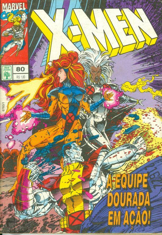 X-Men [Abril - 1ª série] nº 080 jun/1995