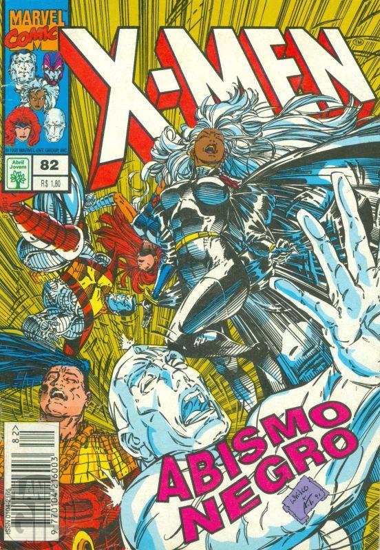 X-Men [Abril - 1ª série] nº 082 ago/1995