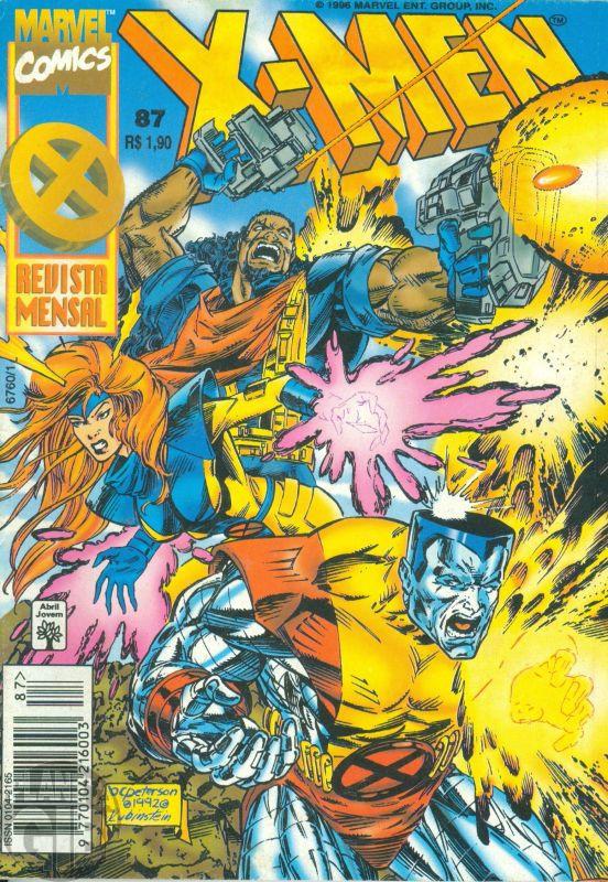 X-Men [Abril - 1ª série] nº 087 jan/1996