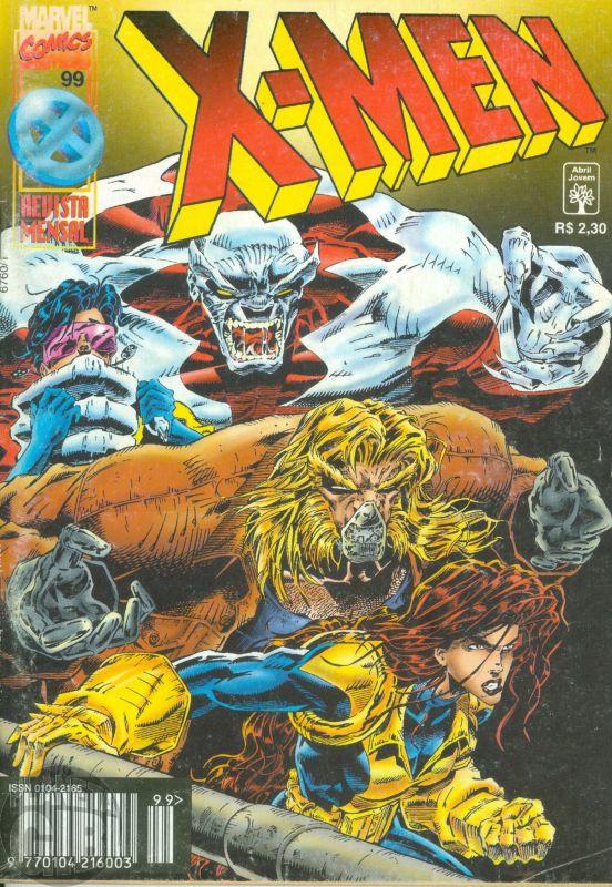 X-Men [Abril - 1ª série] nº 099 jan/1997