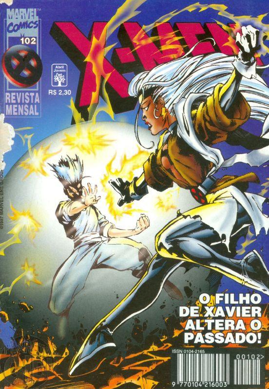 X-Men [Abril - 1ª série] nº 102 abr/1997 - Leia os detalhes abaixo