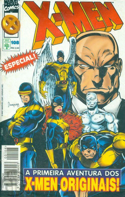 X-Men [Abril - 1ª série] nº 108 out/1997 - Leia os detalhes abaixo