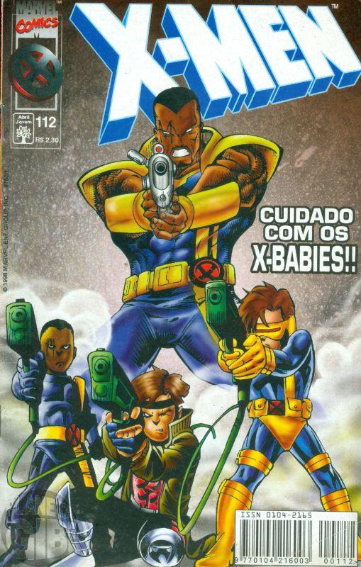 X-Men [Abril - 1ª série] nº 112 fev/1998