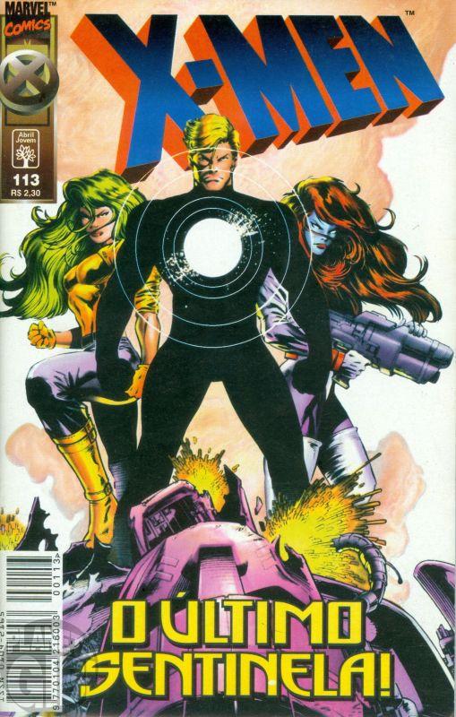 X-Men [Abril - 1ª série] nº 113 mar/1998