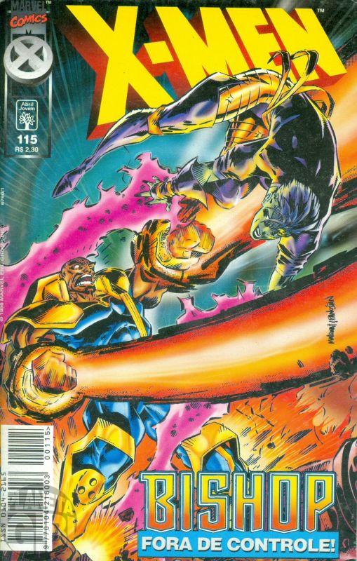 X-Men [Abril - 1ª série] nº 115 mai/1998