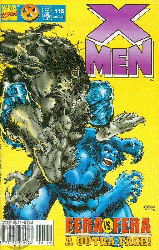 X-Men [Abril - 1ª série] nº 116 jun/1998
