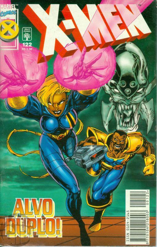 X-Men [Abril - 1ª série] nº 122 dez/1998