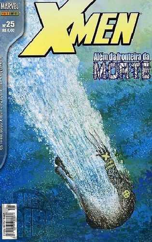 X-Men [Panini - 1ª série] nº 025 jan/2004