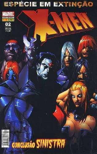 X-Men [Panini - 1ª série] nº 082 out/2008 - Espécie em Extinção