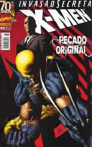 X-Men [Panini - 1ª série] nº 095 nov/2009 - Invasão Secreta