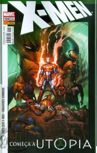 X-Men [Panini - 1ª série] nº 104 ago/2010 - Utopia