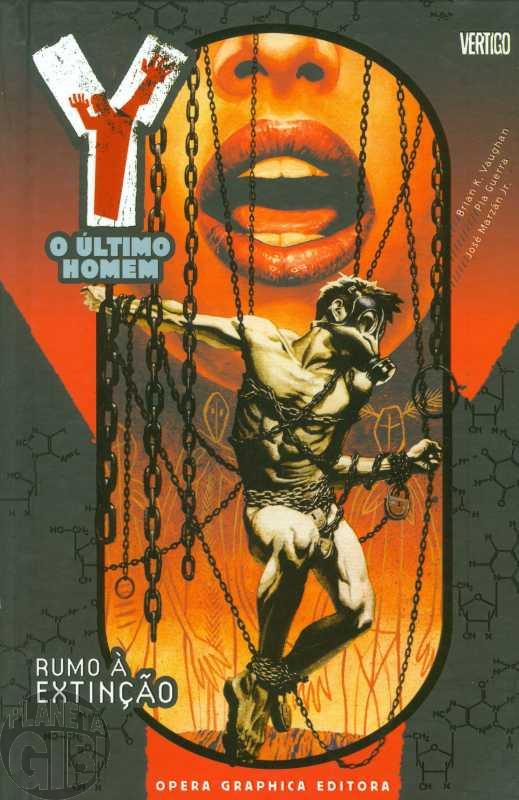 Y O Último Homem [Opera Graphica] nº 001 jul/2006 - Rumo à Extinção - Capa Dura