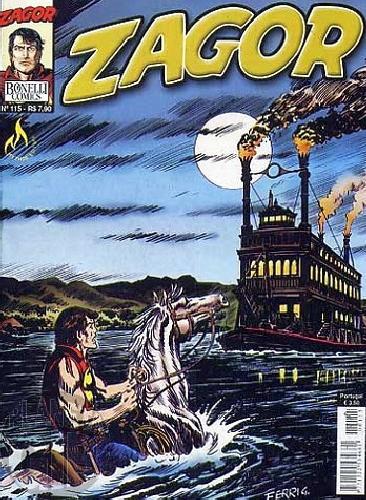 Zagor [Mythos] nº 115 out/2010 - Resgate Desesperado