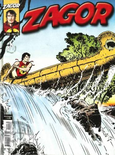 Zagor [Mythos] nº 132 mar/2012 - O Preço da Traição