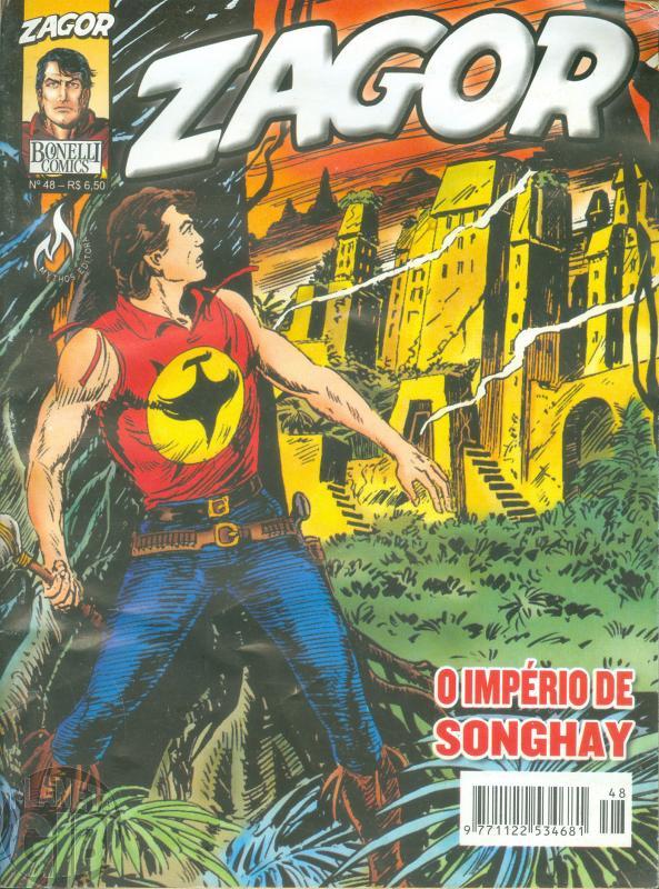 Zagor [Mythos] nº 048 mar/2005 - O Império de Songhay