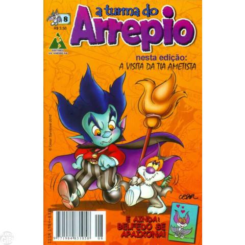A Turma do Arrepio [As Américas] nº 008 ago/2010 - Última Edição