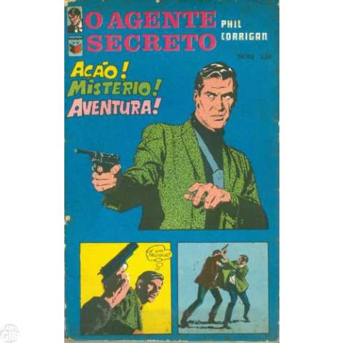 Agente Secreto Phil Corrigan [Saber] nº 003 1970 - O Agente Secreto X-9