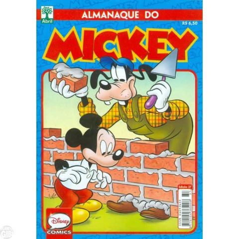 Almanaque do Mickey [2ª série] nº 037 abr/2017 - Última Edição Desta Série