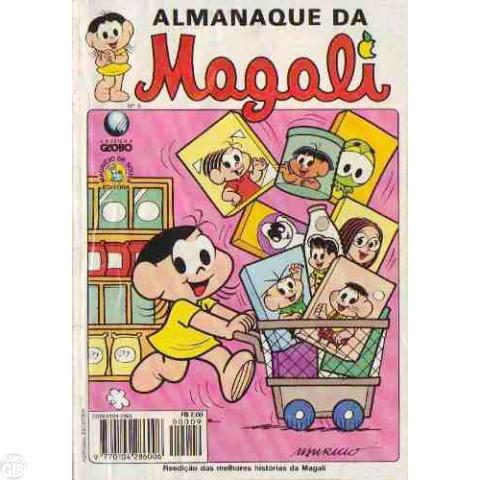 Almanaque da Magali - Globo - nº 009 dez/96