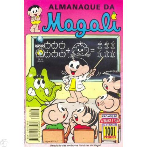 Almanaque da Magali - Globo - nº 016 mar/98