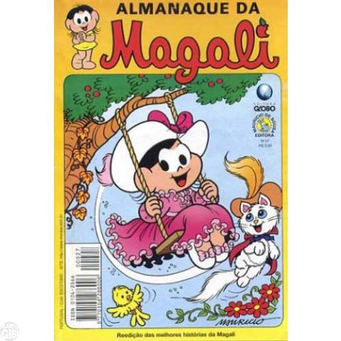 Almanaque da Magali - Globo - nº 027 dez/00