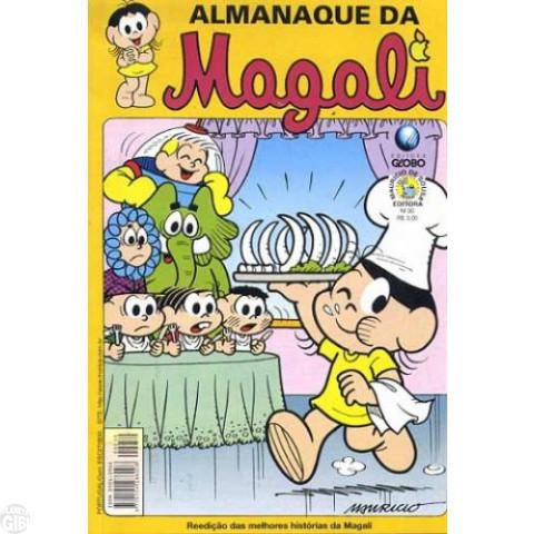 Almanaque da Magali - Globo - nº 030 set/01