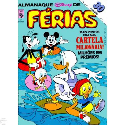 Almanaque Disney de Férias nº 002 dez/1983 - Carl Barks - Vide Detalhes