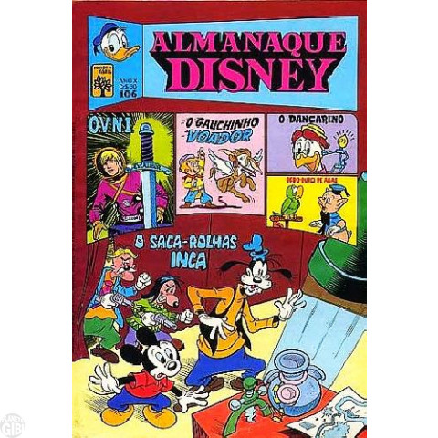 Almanaque Disney nº 106 mar/1980